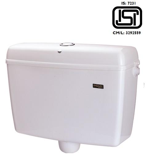 POLYTUF PVC Flushing Cistern INDUSS Premium Centre Push 5009